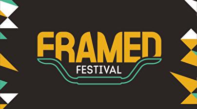 het logo van framed festival